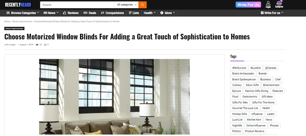 Choose Motorized Window Blinds For Adding a Great Touch of Sophistication to Homes.png